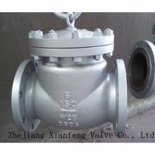 150lb / 300lb / 600lb / 900lb / 1500lb Válvula de retención de extremo de brida de acero fundido