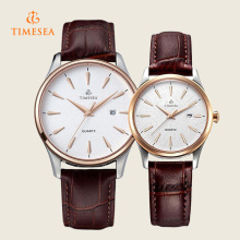 Stainless Steel Couple Watch, Quartz Watch 70036