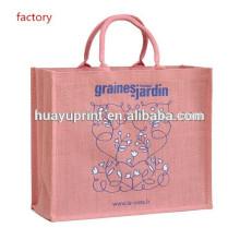 Recyle saco de compras / gunny saco / saco de juta AT-1051