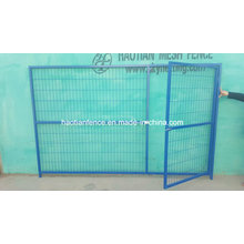 Blue Color Powder Coated Temporary Fencing for Canada Market