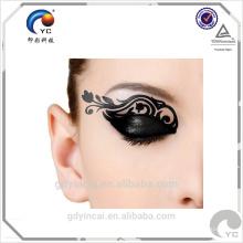 Adorant pour des autocollants d'oeil sur le visage, autocollant de tatouage de mode de partie avec l'impression imperméable provisoire