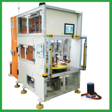 Vertical type stator auto coil winding machine