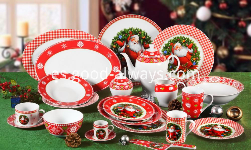 Christmas Porcelain Dinnerware