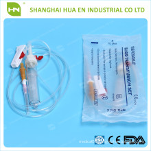 disposable sterile blood transfusion set CE ISO made in China