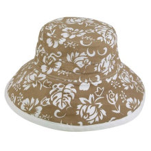 Women′s Custom Made Printing Sun Hat/Beach Hat/Bucket Hat/Floppy Hat