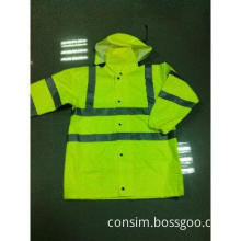 300D oxford fabric safety work wear,reflective clothing,safety bomber