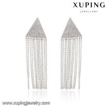 E-182 Xuping 2016 fashional nuevos diseños borla pendientes de joyería
