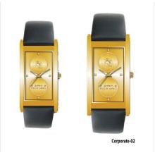 Wasserresistente Promotion Geschenk Corporate Paar Uhr