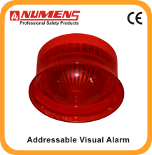 EN&UL approvals Addressable Visual Alarm Device for house detection factory price