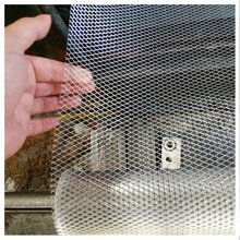 Customized stainless steel expanded mesh for filters
