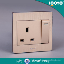 13A British Standard Electrical Wall Outlet Socket