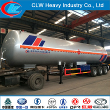 Heavy Duty Asme Tri-Axle LPG Tank Truck Trailer
