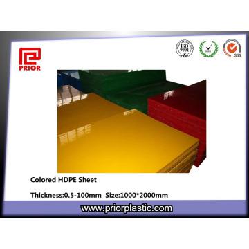 Matériel de HDPE de planche à découper de 1000 * 2000mm