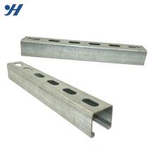 Canal Unistrut Hdg C en acier inoxydable de résistance à la corrosion