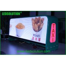Ledsolution новейшие продукты дисплея СИД такси Топ светодиодный дисплей автомобиля