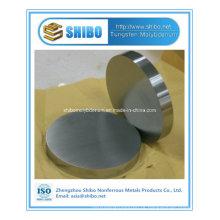 China Disco de molibdênio de alta pureza de vendedor superior com preço de fábrica