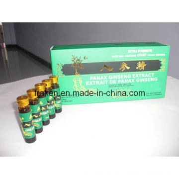 Extracto de Ginseng Panax de alta calidad Oral Liquid