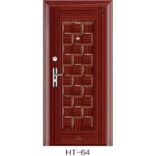Puerta de acero de la puerta de seguridad del diseño popular