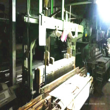Second-Hand Velvet Loom Machinery Running in Factory