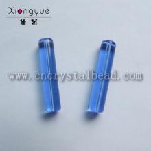 Colonne de verre bleu DG04 forme perle