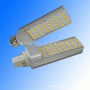 El surtidor de China llevó la venta caliente de la luz del enchufe del PLC pl llevó el bulbo del gu24 pl
