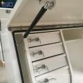 Caja de herramientas de la cama de la camioneta de acero con cajones de aluminio Caja de herramientas de la cama de la camioneta de acero con cajones de aluminio