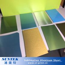 Сублимации покрытие алюминиевых листов для печатание передачи тепла