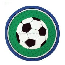Coaster en PVC souple personnalisé (Coaster-02)