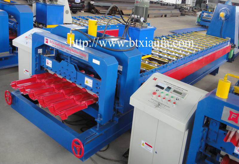 Roof Tile Sheet Rolling Forming Machine (2)