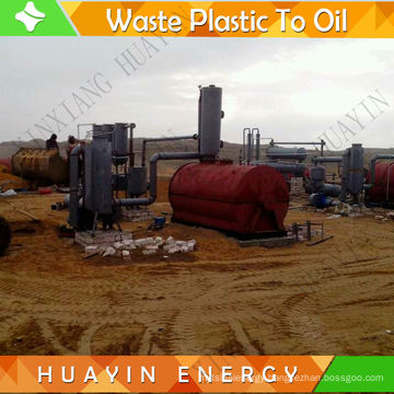 Residue Oil Refinery Plant To Diesel With Mini Small Demo Running Machines