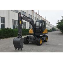 Escavadora de roda hidráulica de 7 toneladas para venda