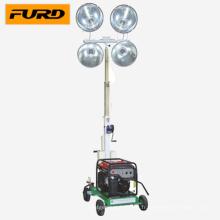 Tour d'éclairage montée sur véhicule de générateur à essence Honda (FZM-1000B)