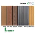 Compuesto de plástico de madera WPC Impermeable decking al aire libre