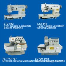 Double Needle & High-Speed Overlock Sewing Machine