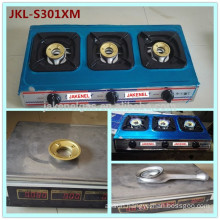 stainless steel 3 burner gas cooker stove