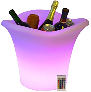 LED ice bucket remote control