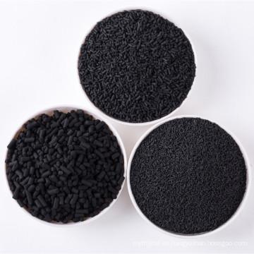 Koh impregnado de carbón activado