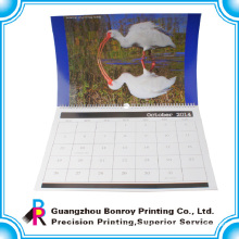 2018 China customized colorful tear off paper wall calendar wholesale