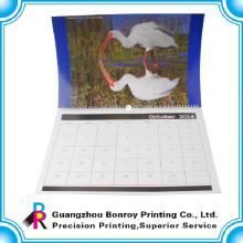 2018 Китай подгонянные цветастые отрывать бумажные настенный календарь оптом