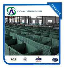 Galvanized Mil Hesco Barrier, Gabion Box, Defensive Barrier