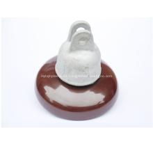 Disco aislador de porcelana serie 52