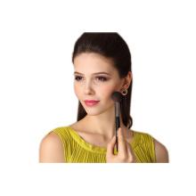Brosse à chocolat à cheveux naturels cosmétiques à la vente chaude