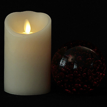 luminara moving wick led candles