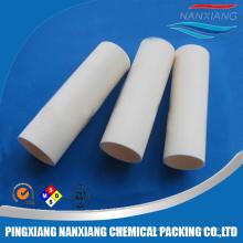 Tubo cerâmico do tubo cerâmico alto da alumina da condutibilidade térmica