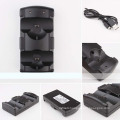 rechargeable move charger dock stand for ps3games controller stand