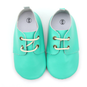 Fancy Oxfords Borong Soft Sole Baby Leather Shoes
