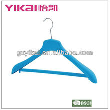 High quality flocking coat hanger