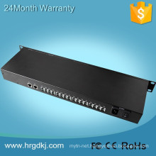 Hot design communication equipment 16 port digital video audio fiber telephone optical multiplexer