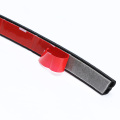 universal car door B shape epdm  rubber weather seal strips goods in stock