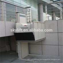 Ascensores hidráulicos eléctricos verticales de 2.5 m de alto para personas discapacitadas